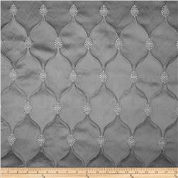 Starlight Lodi Metallic Diamond Satin Jacquard Grey
