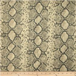 Ramtex Faux Leather Python Beach Fabric