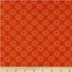 Intrigue Fancy Flannel Sun Burst Orange