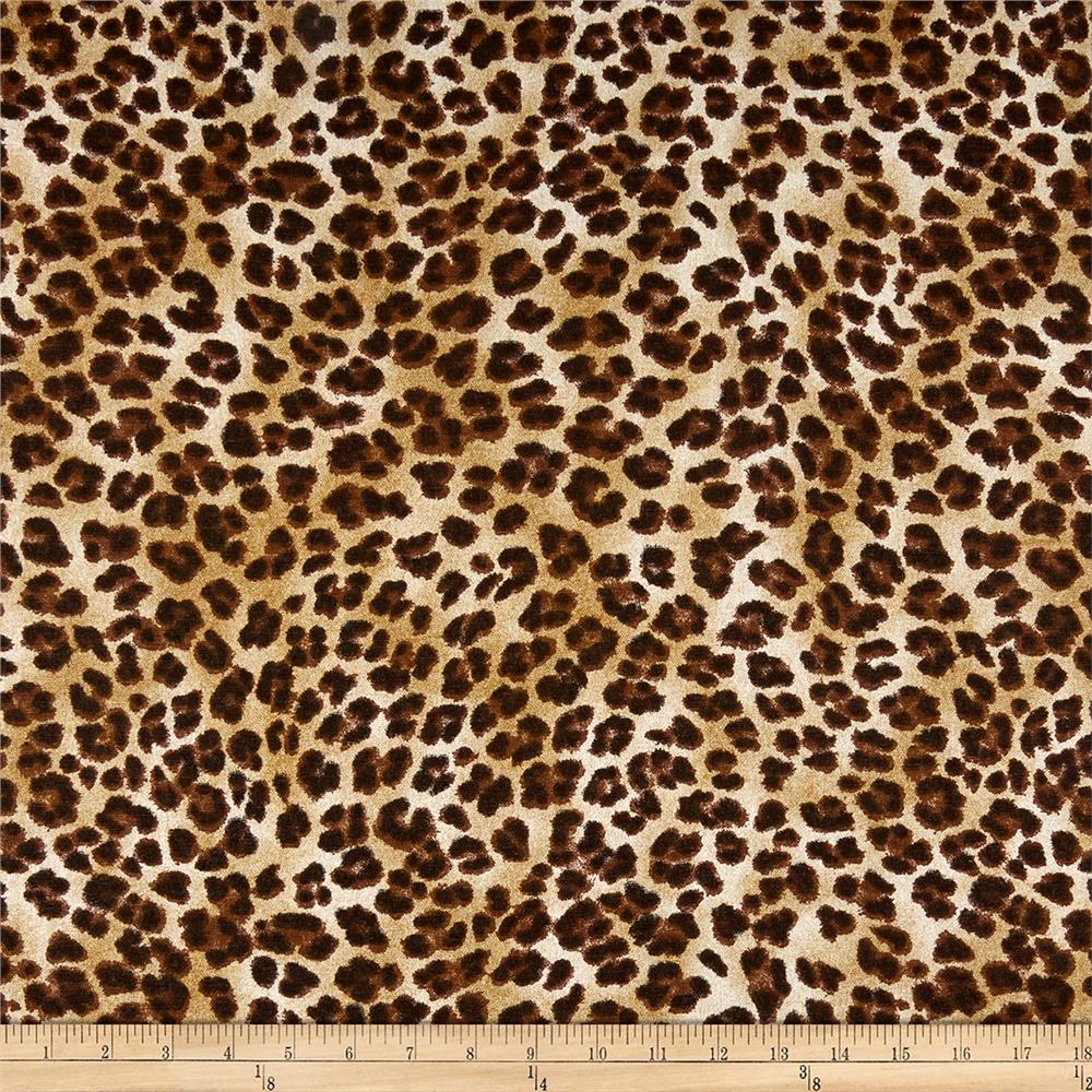 Premier Prints Amazon Leopard Sand