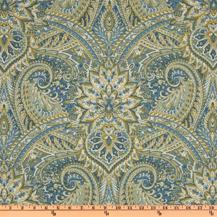 Waverly Swept Away Paisley Chambray
