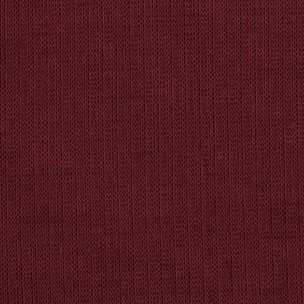 Stretch Hatchi Rib Knit Wine