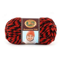 Lion Brand Hometown USA Yarn 600 Bulldogs