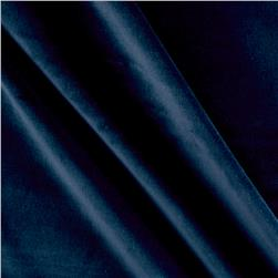 Harper Home Cotton Velvet Navy