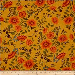 Moda Perfectly Seasoned Large Floral Maize