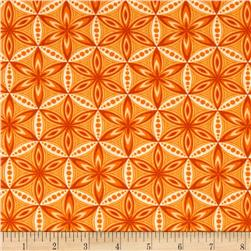 Transformation Flower of Life Orange