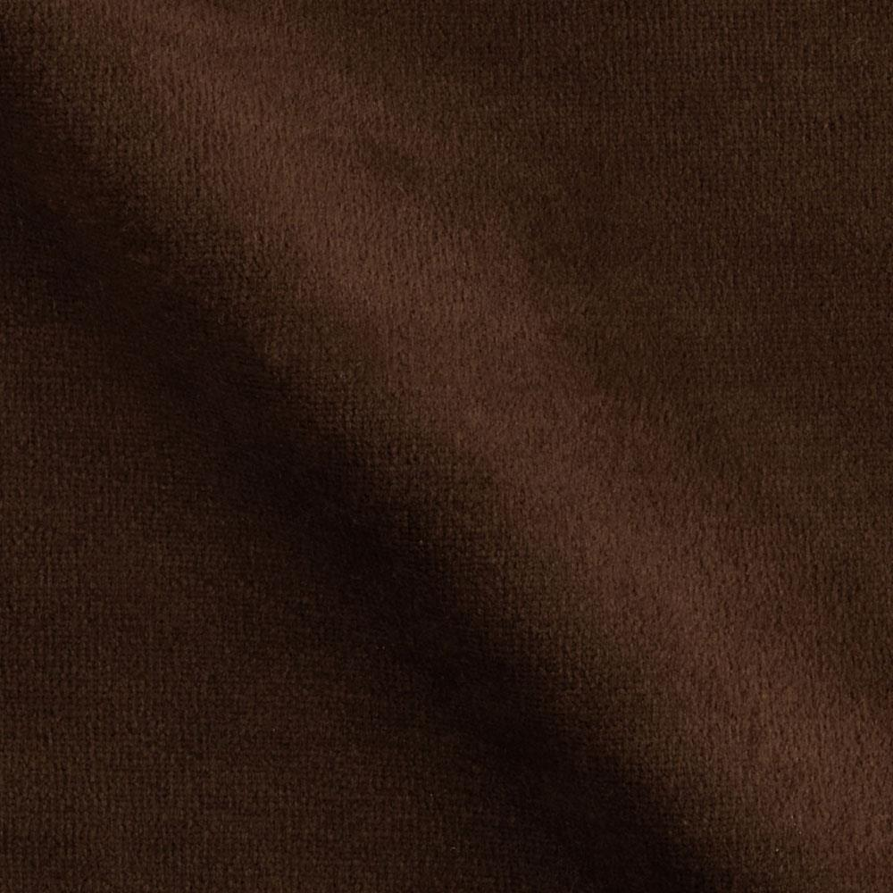 Cotton Blend Velour Brown