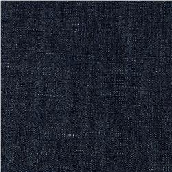 Cotton/Linen Chambray Shirting Indigo
