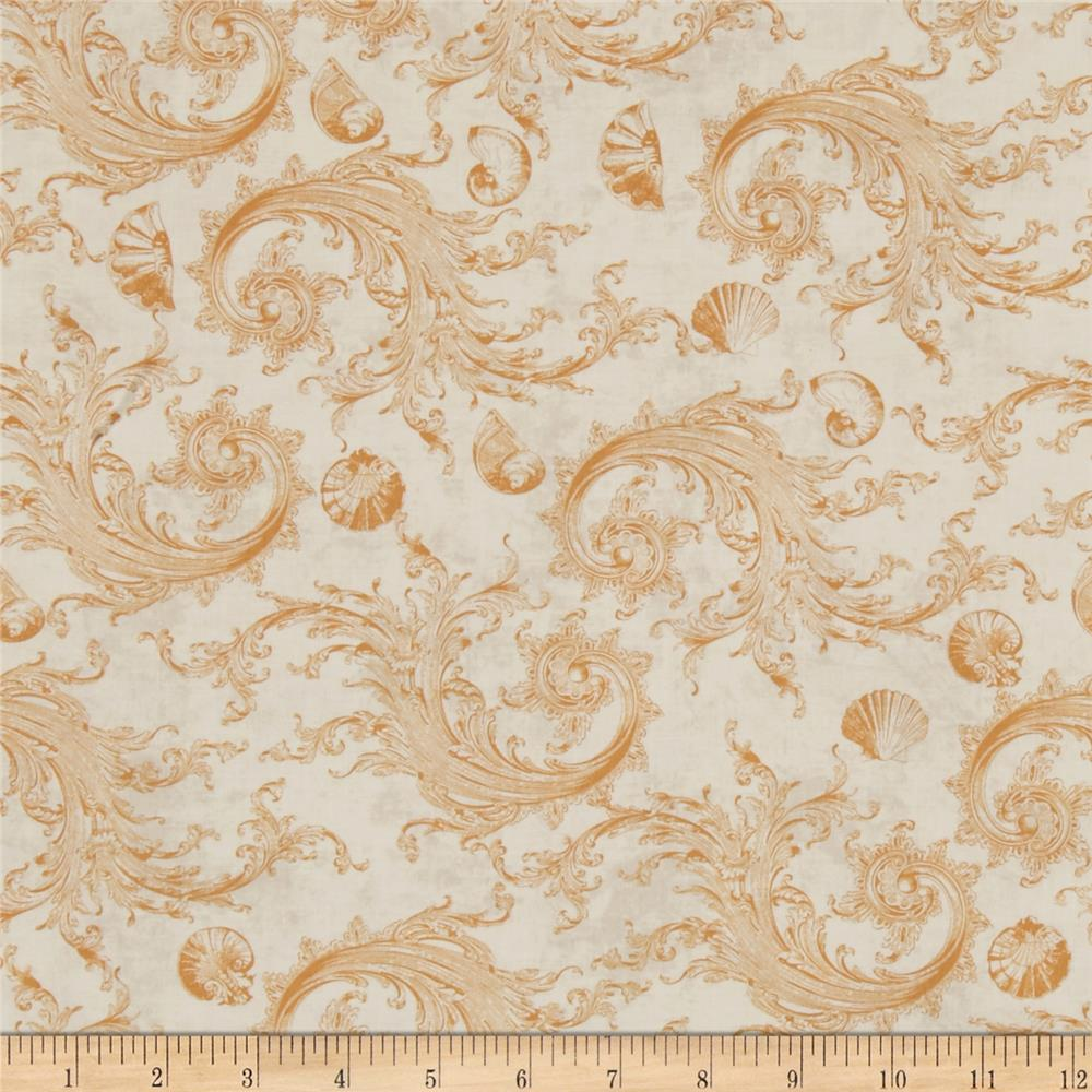 Sea Cottage Damask Cream