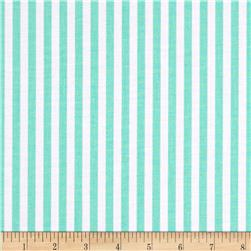 Michael Miller The Littles Clown Stripe Stream Fabric