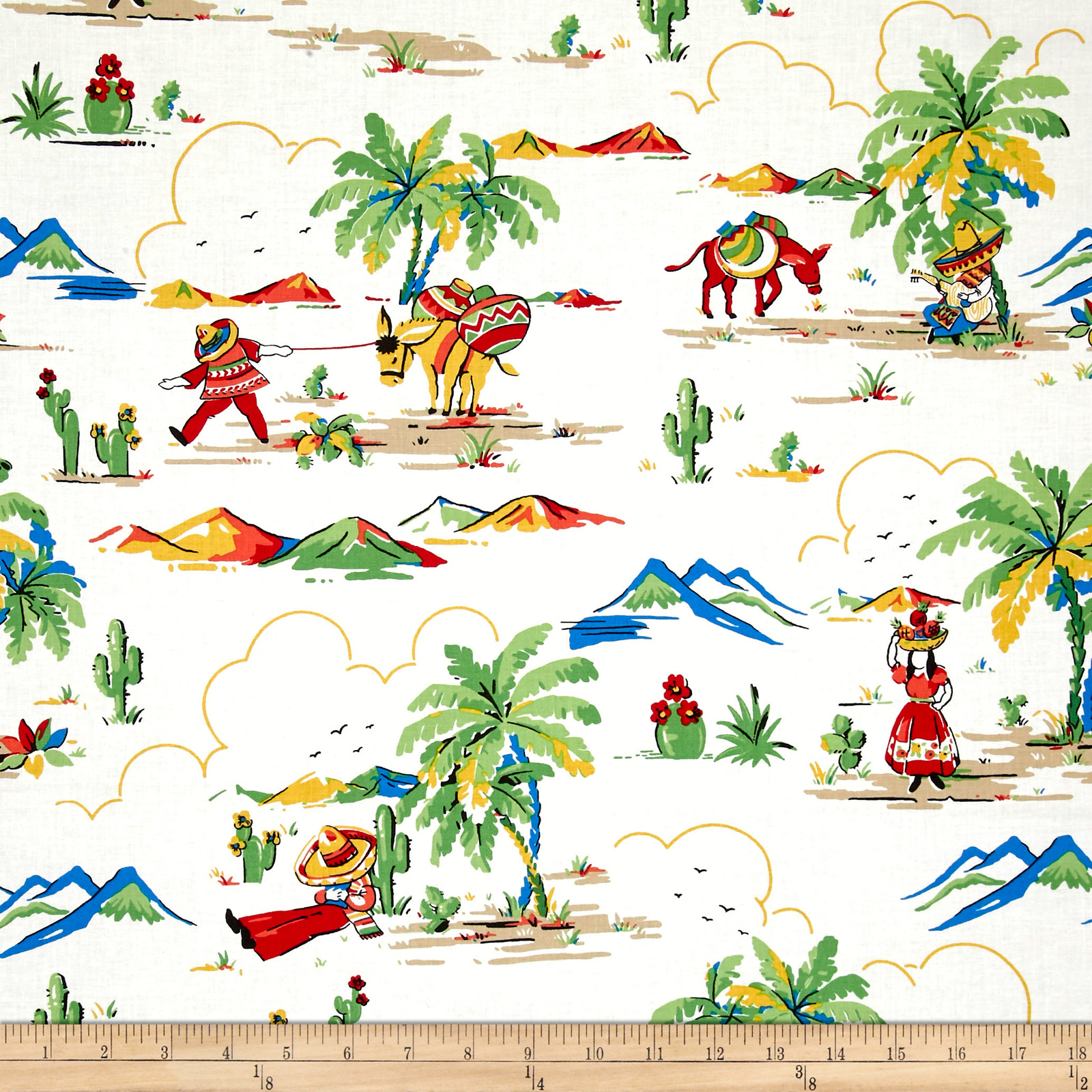 South Of The Border  South Of The Border Multi Fabric 0547393