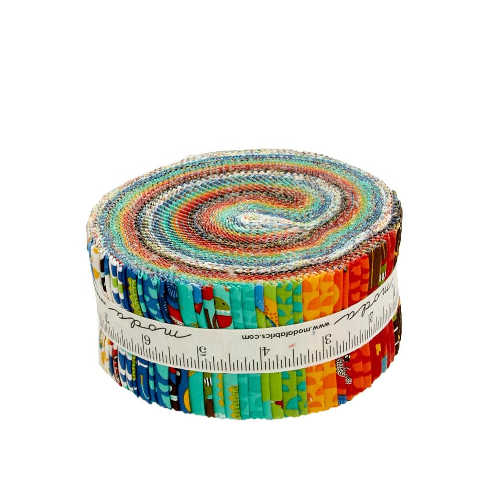 "Moda Jurassic Jamboree 2.5"" Jelly Roll"