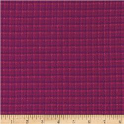Color Catchers Yarn-Dye Flannel Mini Houndstooth Pink/Magenta