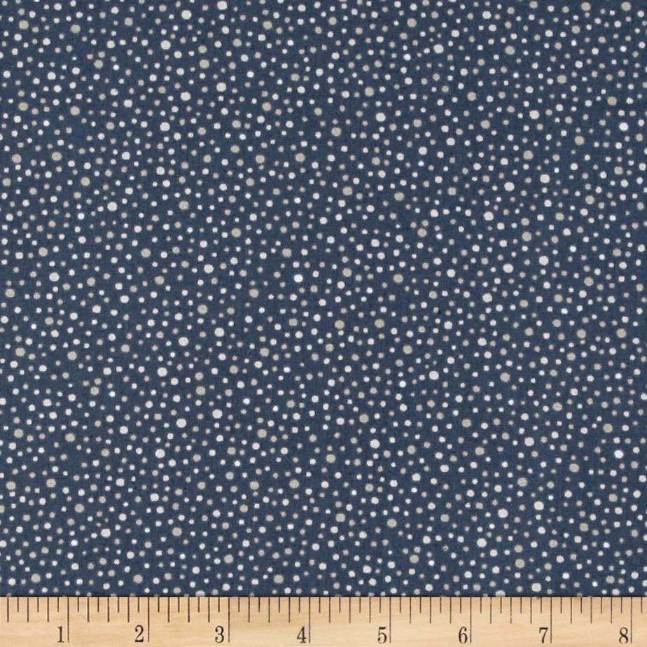 Imperial Dots Denim Blue