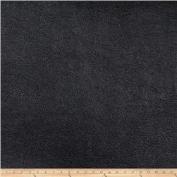 Fabricut Pewter Faux Leather Onyx