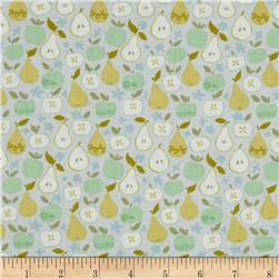 Clementine In the Orchard Ivory Fabric