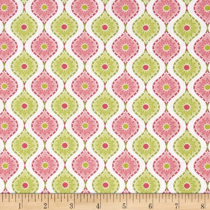 Soul Blossom Boho Sunflower Pink/Green