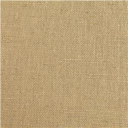 European Linen/Cotton Blend Light Tan