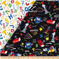 Back to School Double Sided Quilted Black