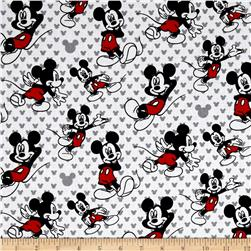 Disney Mickey Totally Mickey Relaxed White