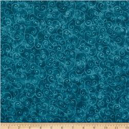 Moda Marble Swirls (9908-96) Teal Fabric