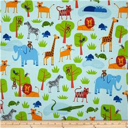 Jungle Party Animal Collage Bright