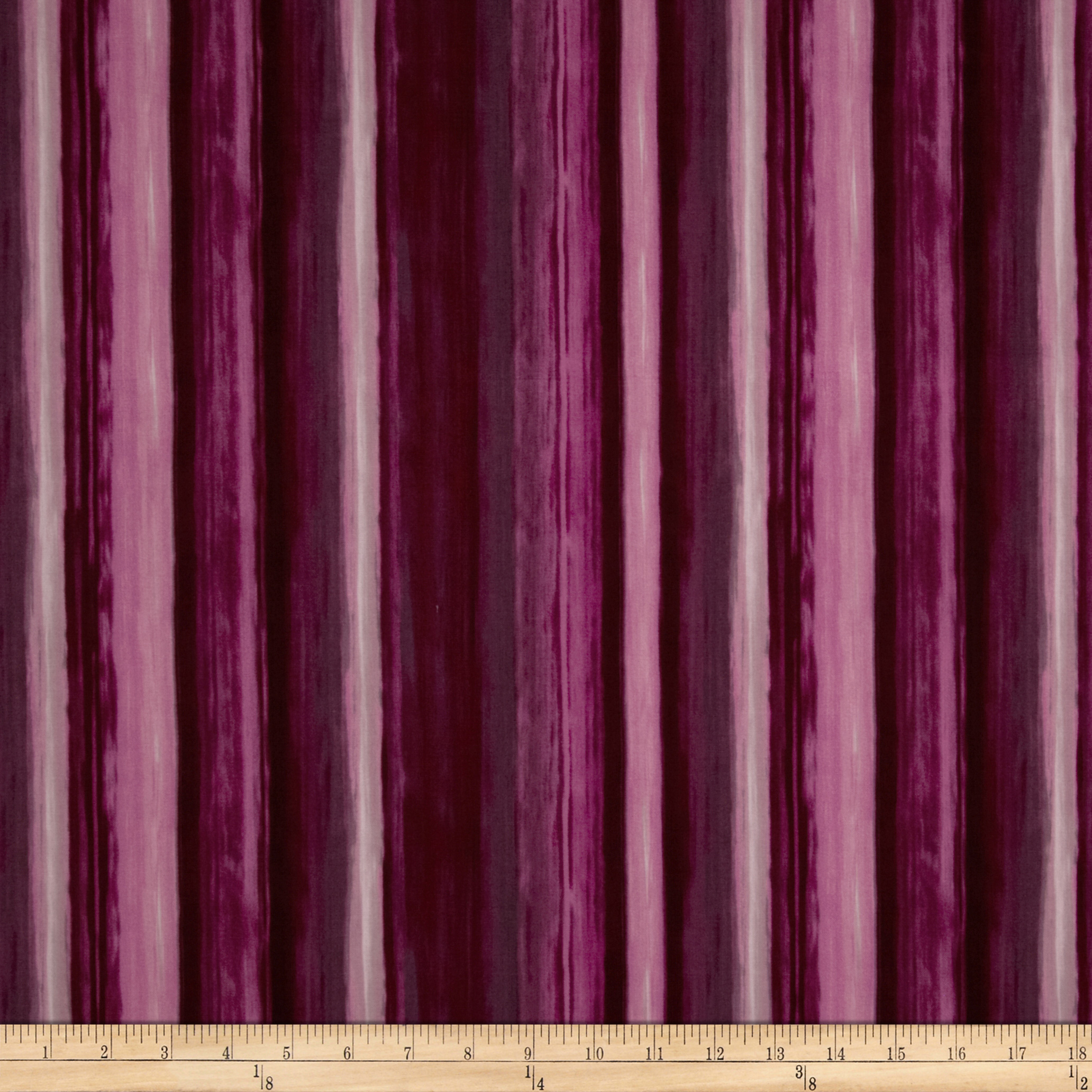 Studio Stash Water Stripe Berry Fabric