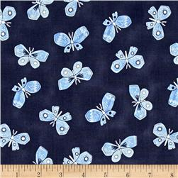 Dear Stella Honey Bee Butterflies Navy