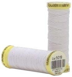 Gutermann Elastic Thread White