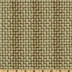 Savannah Dotted Squares Green