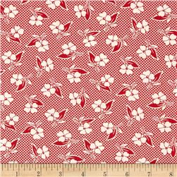 Moda Fresh Air Two Toned Floral Red