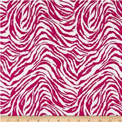 Tiger Flannel Fuchsia