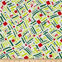 Green and Red Dasher Bright