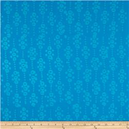 Indian Batik East Side Dots Aqua