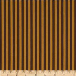 Michael Miller Clown Stripe Cappuccino Fabric