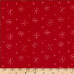25 Days of Christmas Tossed Red