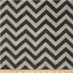 Fleece Chevron Grey