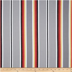 Serape Stripes Deluxe Cotton Grey
