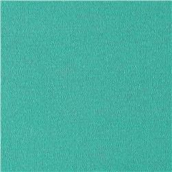 Designer Cotton Blend Tissue Knit Aquamarine