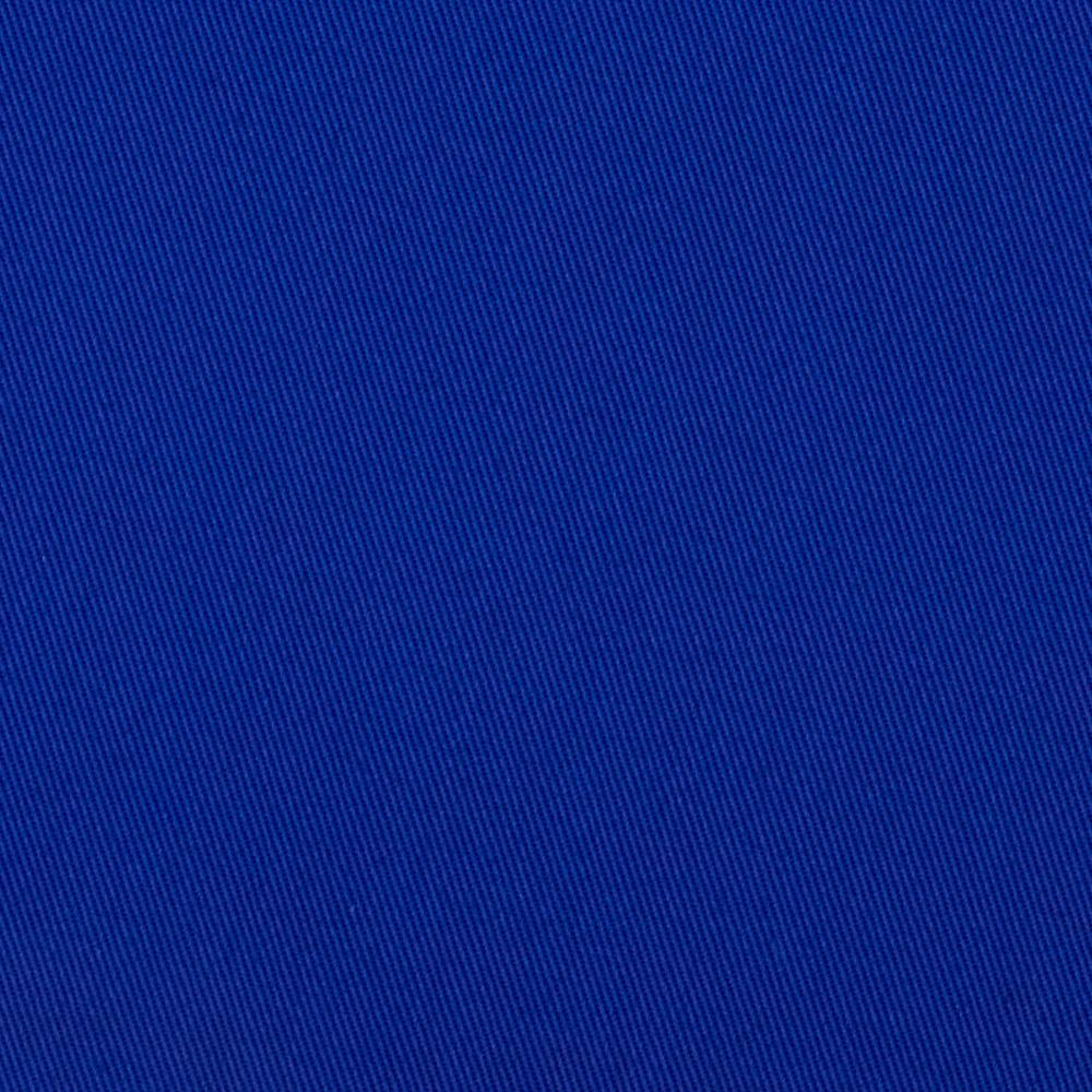Cotton Poly Solid Twill Royal