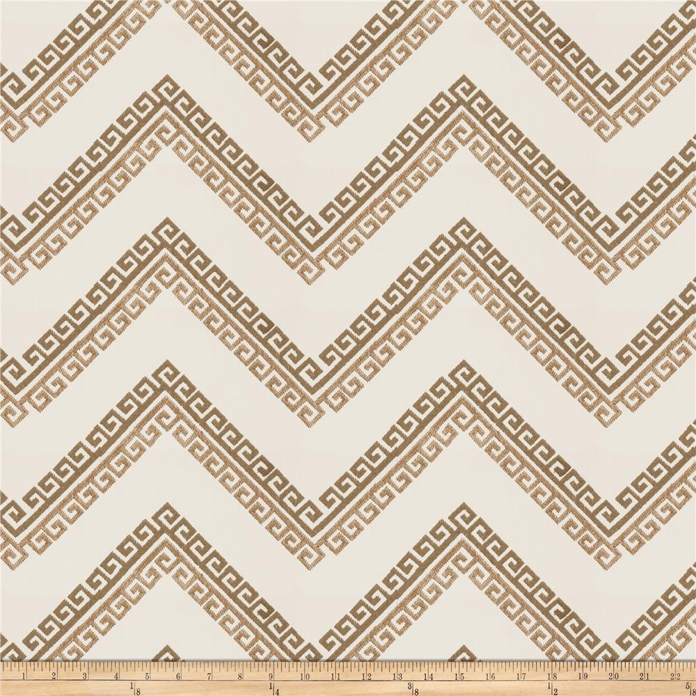 Fabricut Nandi Embroidered Taupe