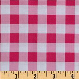 Brights & Pastels Basics Large Plaid Pink