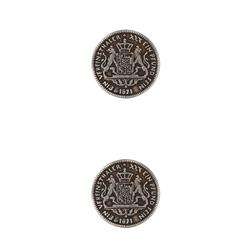 Dill Buttons 3/4'' Full Metal Button Antique Silver