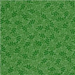 Harmony Flannel Leaf Spring Green