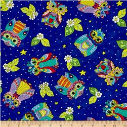 Night Bright Owl Toss Blue