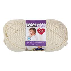 Red Heart Baby Hugs Medium Yarn, Shell