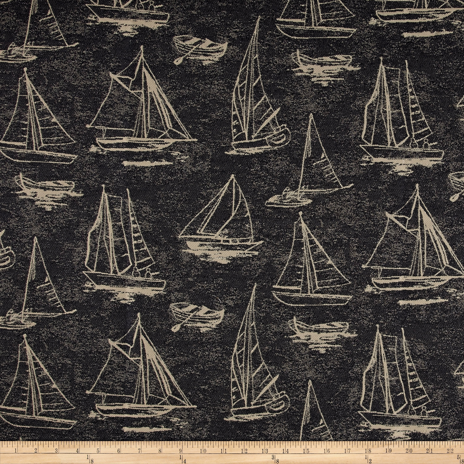 Covington Outdoor Solution Dyed Spindrift Nautical Fabric