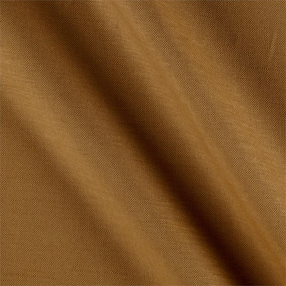 European Linen Blend Khaki Fabric