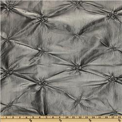 Rosette Iridescent Taffeta Grey Fabric
