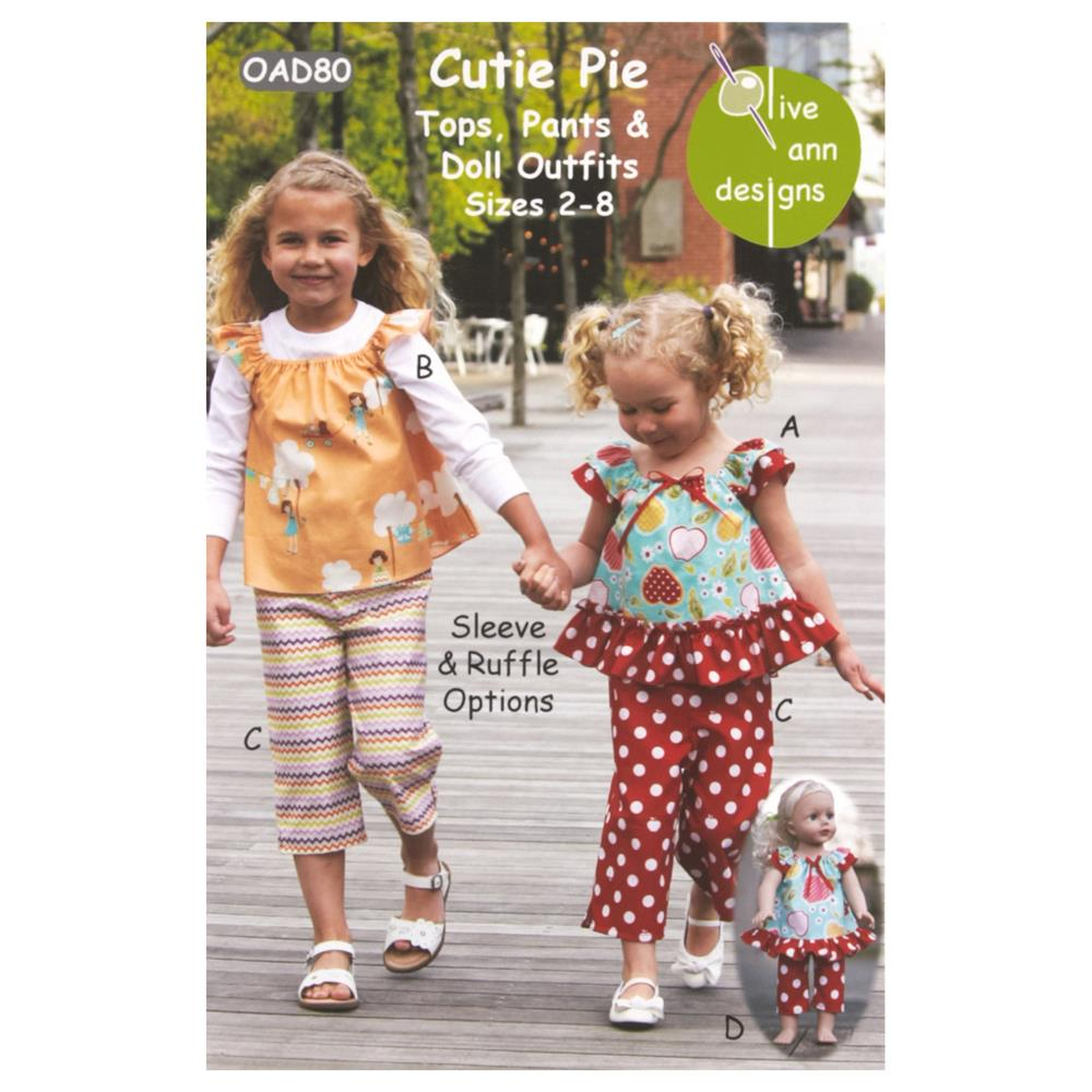 Olive Ann Designs Cutie Pie Pattern